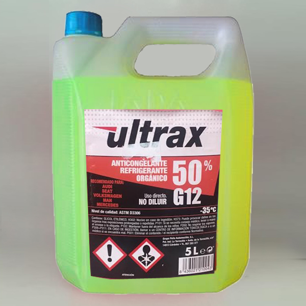 ANTICONGELANTE ULTRAX G-12 50%