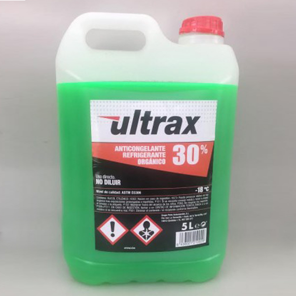 ANTICONGELANTE ULTRAX 30 %