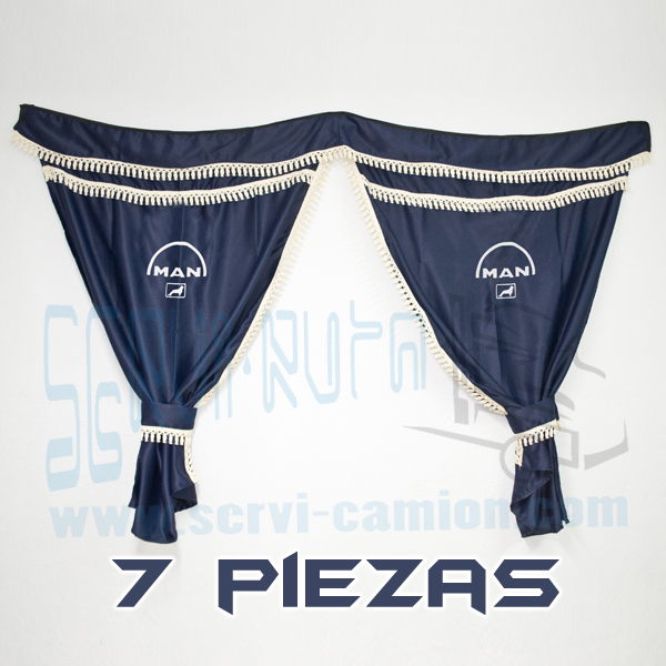 CORTINAS SOYFER MAN XL AZUL