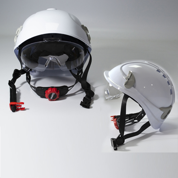CASCO PROTECCION GAFAS ALPINWORKER