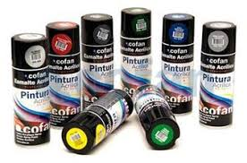 PINTURA COFAN SPRAY NEGRO SATINADO 400ML