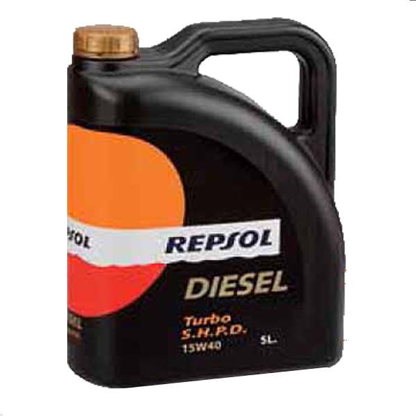 ACEITE REPSOL SUPER TURBO 15W40 5LTS