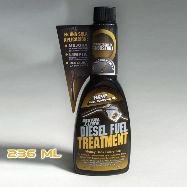 TRATAMIENTO METAL LUBE DIESEL 236ML