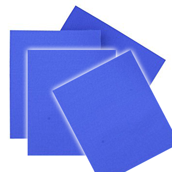 PARCHES LONA AZUL 4 PCS