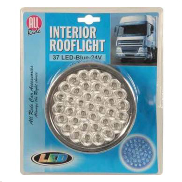 PLAFON ALL RIDE INTERIOR 37 LEDS 24 V AZUL
